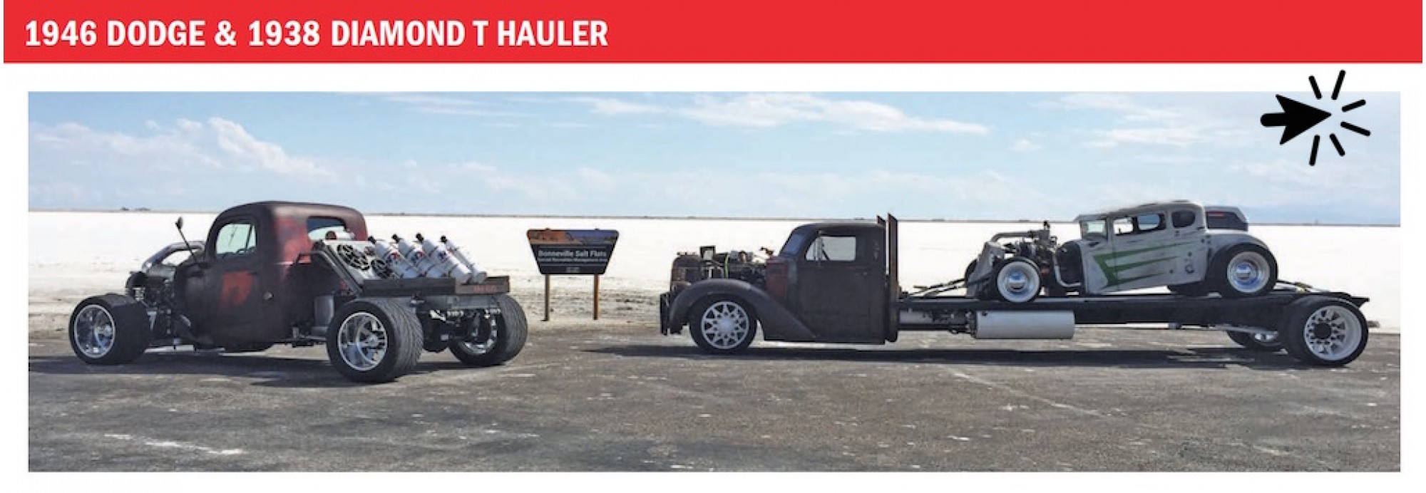 THE ADJUSTER featured in SEMA 2016 Magazine Ad