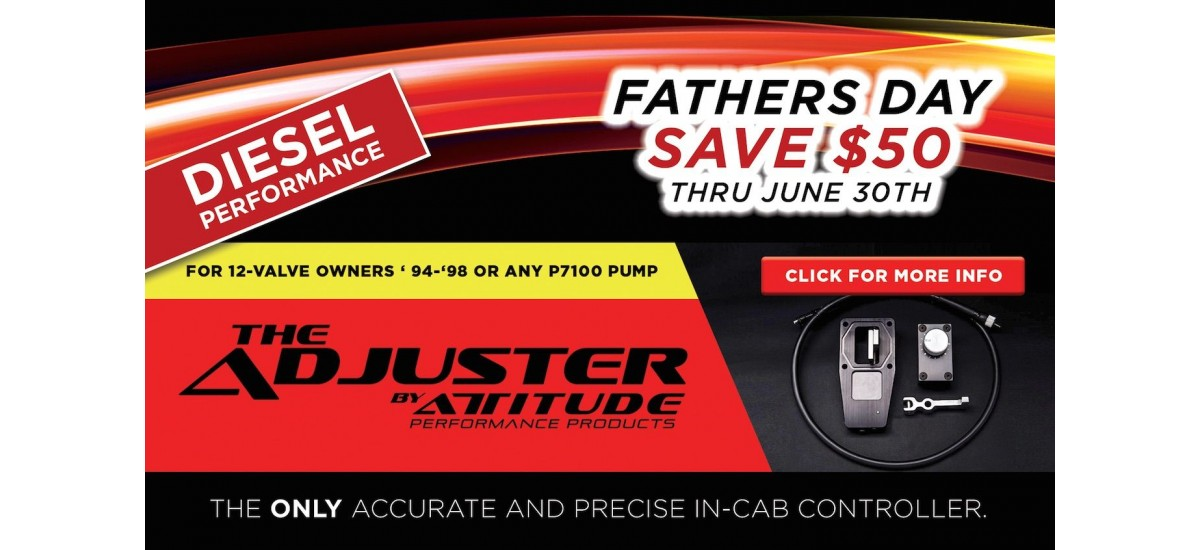 The ADJUSTER Father's Day Sale