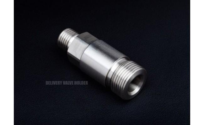 Billet Delivery Valve Holder for Bosch P7100 pump and '94 -'98 Dodge Cummins Diesel Engines