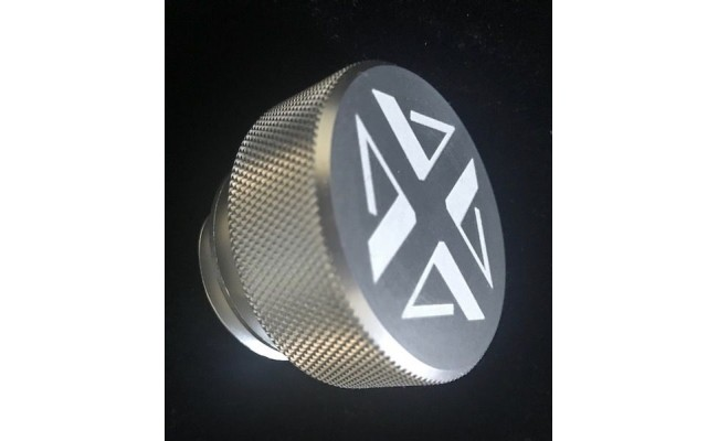 Oil Fill Cap, Billet Aluminum, for '89 to '98 Cummins 12 valve 5.9L Diesel Engines