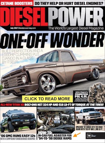The ADJUSTER in Diesel Power Magazine
