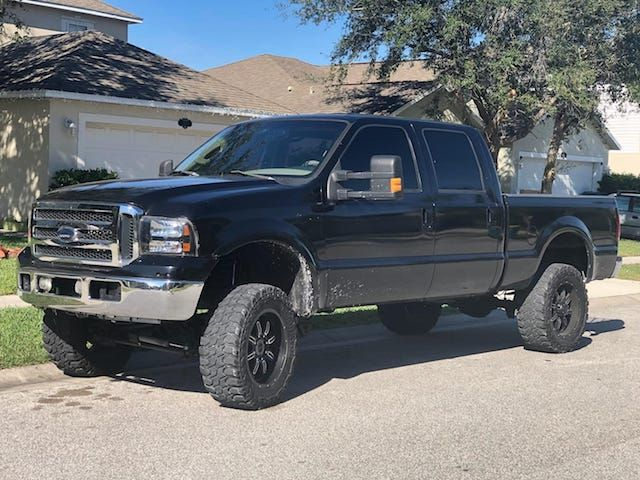 Mighty nice F250 with a compound turbo setup