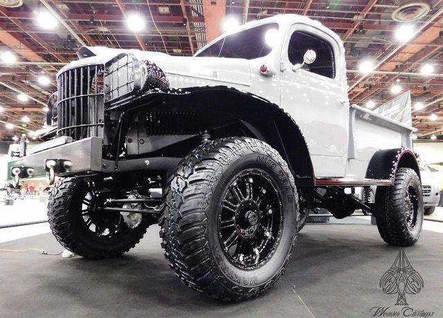 1941 Dodge Power Wagon named FULL METAL JACKET