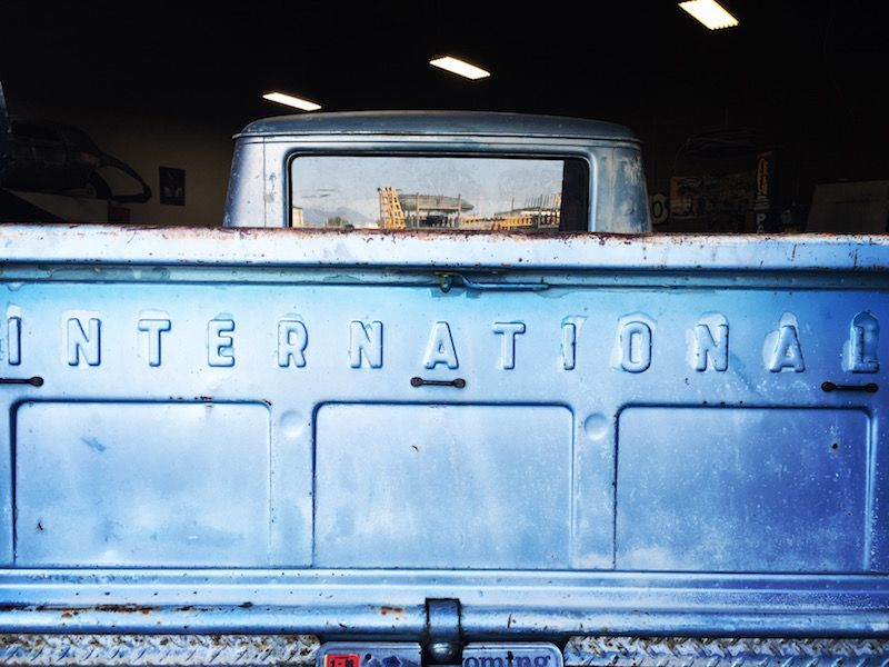 1964 International crew cab aka 'Grunt'