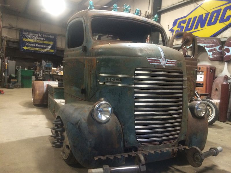 1940 Dodge COE with 1000 hp 12 valve