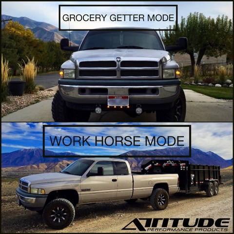 Grocery getter to Work Horse with The ADJUSTER