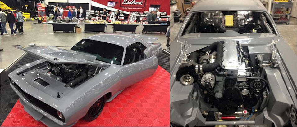 1970 Cuda aka TorC at Detroit Autorama full of Attitude Performance Parts