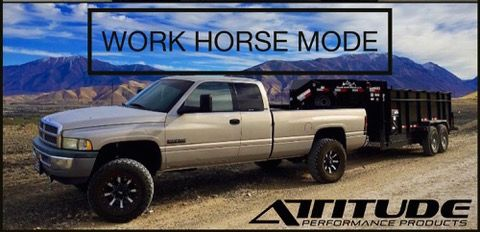 Work Horse Mode with The ADJUSTER by Attitude